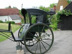 Conserved Hansom Cab