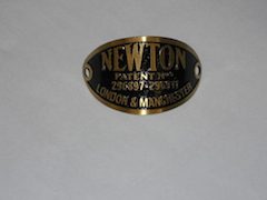 newton badge